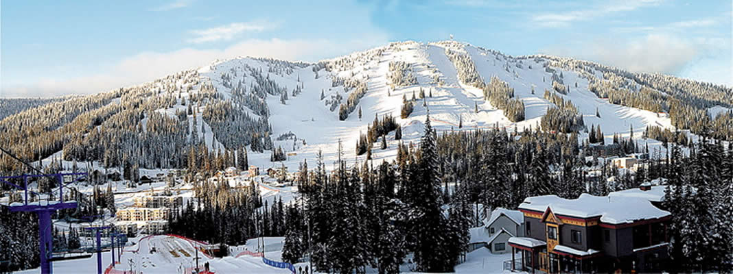 World class skiing at Silver Star Mountain less than 30 minutes from downtown Vernon